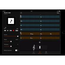 Приложение Yamaha Chord Tracker