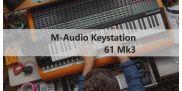 M-Audio Keystation 61 MK3 – третє покоління популярних п'ятиоктавних MIDI-клавіатур