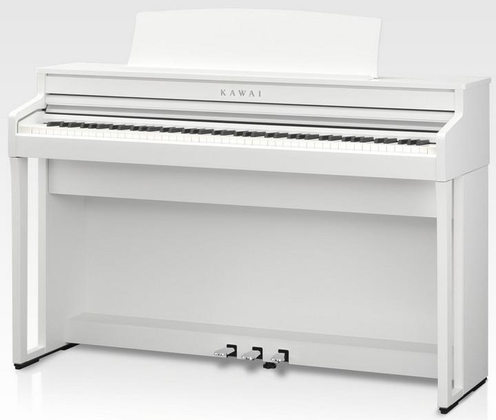 Kawai CA49 Premium Satin White